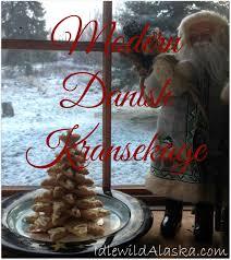 modern danish kransekage christmas tree cookies idlewild