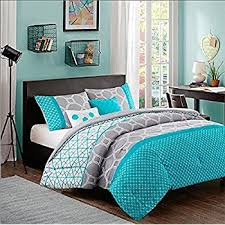 Kid Bedspreads And Comforters Amazon Com Turquoise Blue Aqua Girls Full Queen Comforter Set
