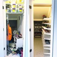 Organized Closet Simply Done The Ultimate Under Stairs Closet Simply Organized