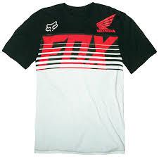 fox motocross t shirts fox racing honda transit t shirt revzilla
