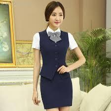 Womens Dress Vests Online Cheap Wholesale 2016 Summer New Work Wear Women U0027s Skirt