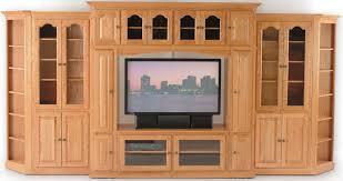 33 off modular entertainment center w rollaway in oak solid