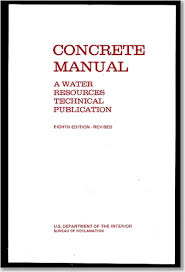 concrete manual a manual for the control of concrete