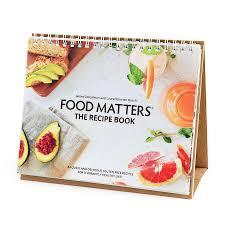 food matters recipe book food matters