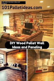 diy wood pallet wall ideas and paneling jpg