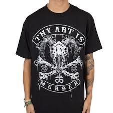 t shirt australian shepherd thy art is murder indiemerchstore