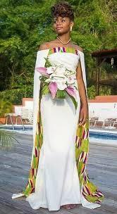 tissu robe de mariã e robe de mariée africaine robe de mariée ankara par