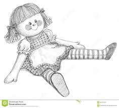rag dolls in drawing google search vintage doll images