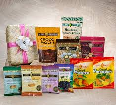 Snack Gift Baskets Mahalo Nui Loa Gift Basket Comes With 10 Different Snack Bags