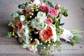country garden wedding flowers