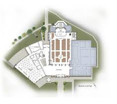 Site Floor Plan by Our Master Plan St Gabriel The Archangel Catholic Church