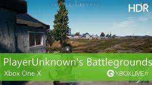 player unknown battlegrounds xbox one x enhanced playerunknown s battlegrounds séquence hdr sur xbox one x youtube