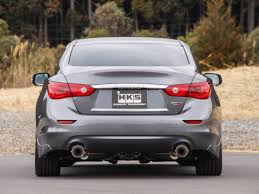 nissan juke exhaust upgrade hks q50 stainless steel cat back exhaust system z1 motorsports