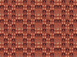 ethiopian mosaic wallpaper wanganegresse spoonflower