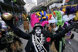 new orleans costumes mardi gras revelers in new orleans turn heads with their wacky and