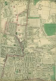 Poe Maps Stoke Newington Map 1862