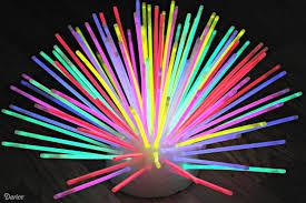 glow sticks diy glow stick centerpiece idea darice
