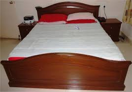 Italian Double Bed Designs Wood Master Bedroom Designs India Design Photos Photo White Wooden King