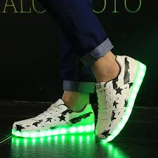light up shoes size 4 kriativ 7 colors size 35 44 men and women led lighted shoes kids