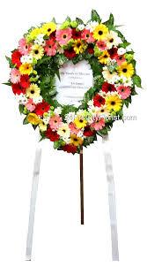 Sympathy Flowers Message - wreath delivery singapore u2013 condolence messages 24 hrs city