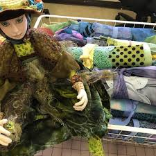 frog princess judy gula fiber u0026 mixed media artist