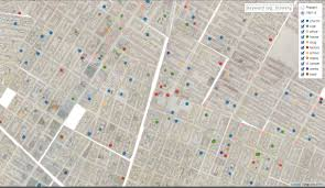 Nyc Traffic Map Find Out What Businesses Were On Your Block Way Back In 1855 With