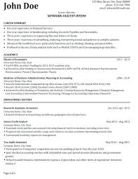 sample accounting student resume internship resume sample 6