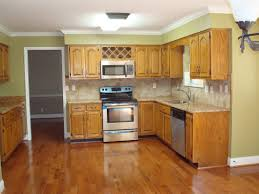 kitchen brilliant glossy wooden flooring design and wooden kitchen