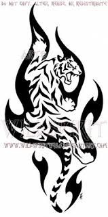 tribal tiger design by smp kitten tigers pinterest tribal