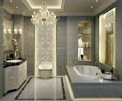 nice bathroom chandeliers crystal vara 5 light bathroom chandelier