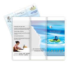 compact laptops software brochure templates