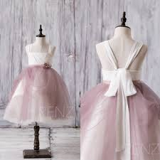 Dusty Rose Wedding Dress 2017 Off White Dusty Rose Junior Bridesmaid Dress Square
