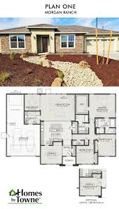 plan one x morgan ranch roseville ca homes by towne floor plans