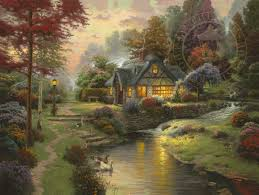 stillwater cottage limited edition the kinkade company