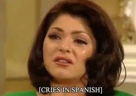 mexican telenovela villain turned in spanish meme in oitnb hoy