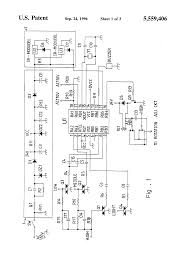 patent us5559406 ceiling fan and light assembly control circuit