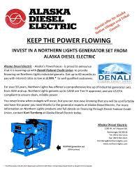 Northern Lights Credit Union Alaska Diesel Electric Home Facebook