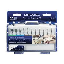 Wood Burning Kits At Lowes by Shop Dremel 11 Piece Tungsten Carbide Engraving Bits At Lowes Com