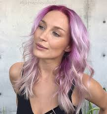 frosted hair color 45 best hairstyles using the fashionable shade of purple