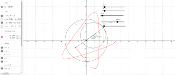 parametric equations of hypotrochoid geogebra