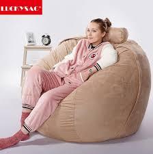 5ft 6ft 7ft 8ft corduroy lazy boy lounge large size foam bean bag