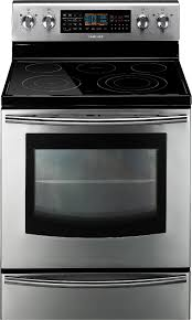 samsung fe710drs 6 6 cu ft dual oven electric range stainless