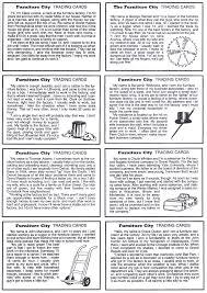 lesson plan furniture design cards