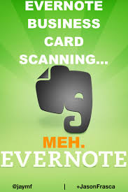 Business Card Evernote Evernote Business Card Scanning Now Baked In U2014 But They Left Out