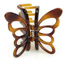 butterfly hair clip denman no slip grip butterfly hair clip hair clip den