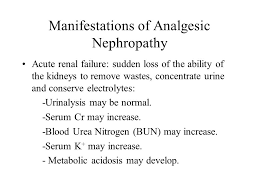 Serum Cr a analgesic nephropathy the jaffe method enzymatic assays