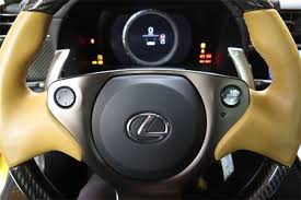 lexus lfa steering wheel used 2012 pearl yellow lexus lfa for sale in san francisco ca vin