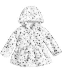 3doodler 2 0 first impressions first impressions faux fur animal print jacket baby girls 0 24