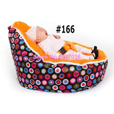 snore baby bean bag chair with harness feeding baby seat beanbag