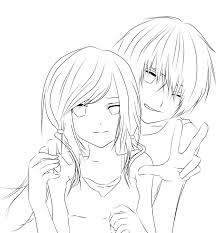 anime couple coloring pages coloring adults coloring pages 982